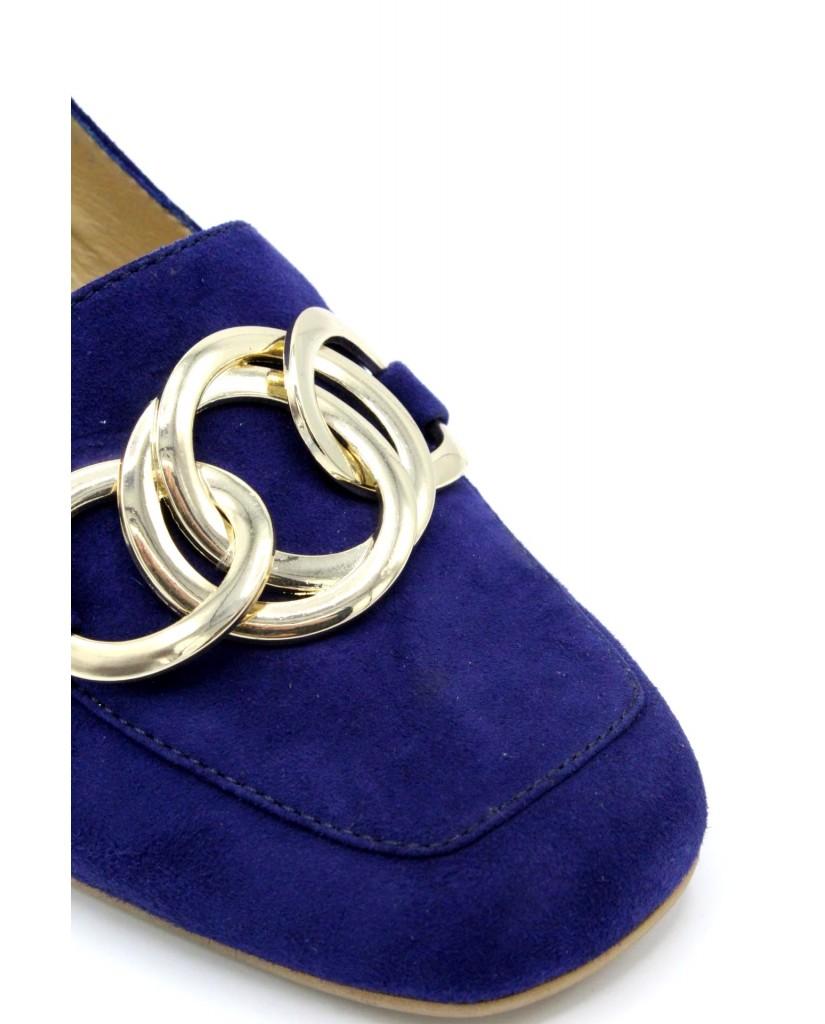 B-private Sandali F.gomma 35/41 p2401p made in italy Donna Blu Fashion