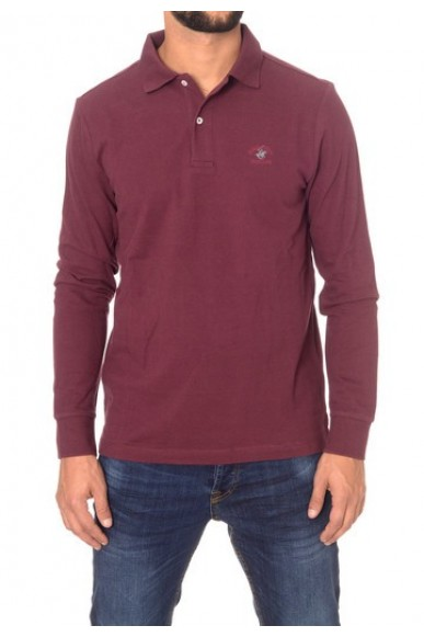 Beverly hills Polo Uomo Bordeaux Casual
