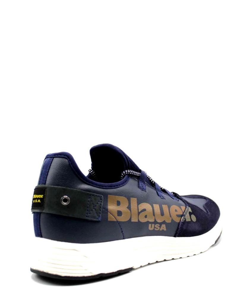Blauer Sneakers F.gomma Uomo Blu Fashion