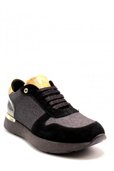 1^classe  Sneakers F.gomma Ginnica donna Donna Nero Fashion