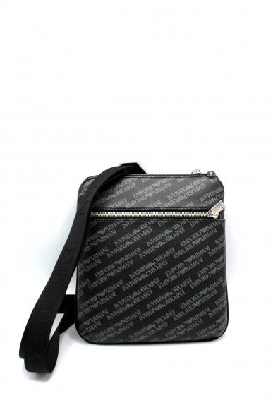 Emporio armani Tracolle - Y4m185 ylo7e tracolla logata ea Uomo Lavagna/nero Fashion