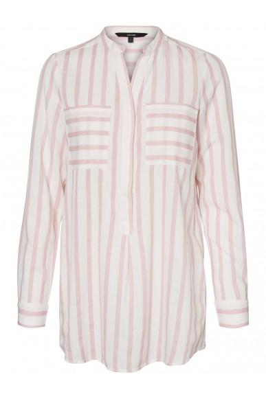 Vero moda Camicie Donna Bianco-rosa Casual