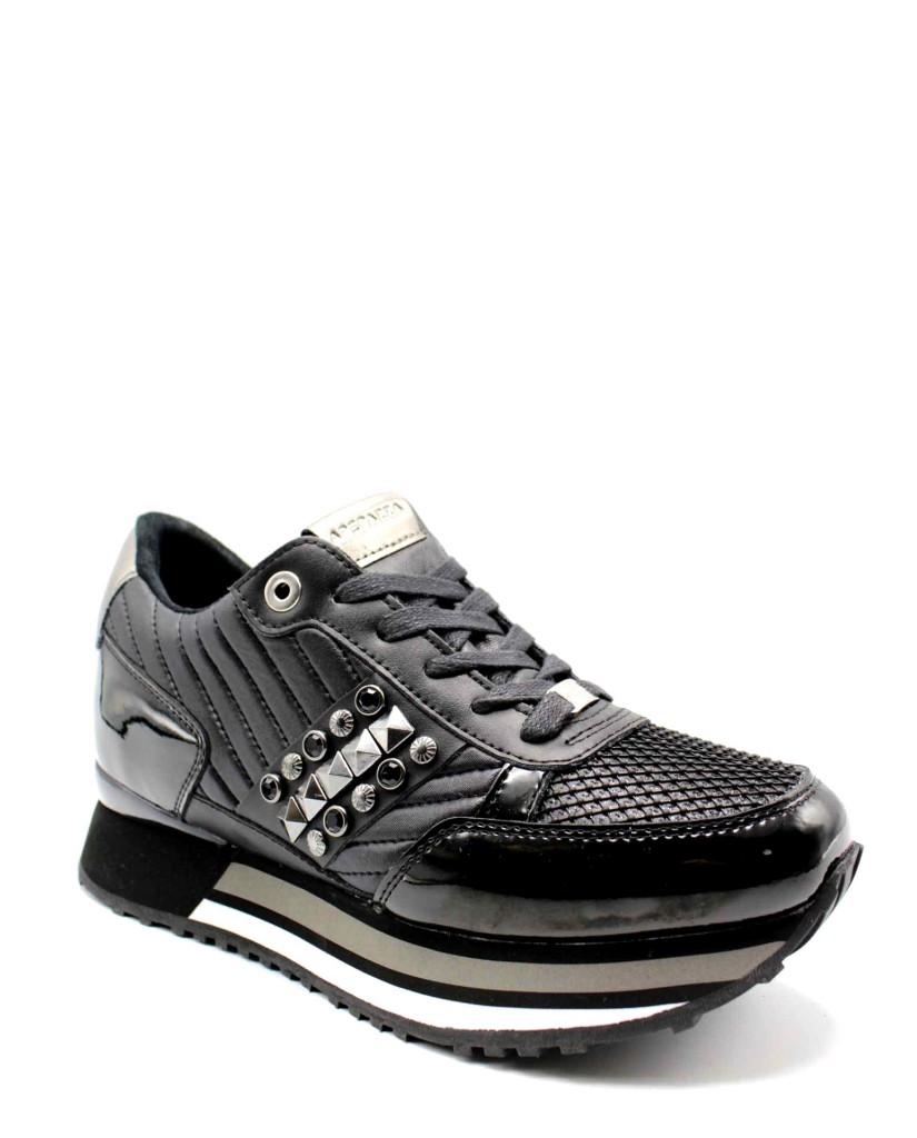 Ape pazza Sneakers F.gomma Raya Donna Nero Fashion