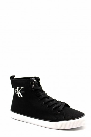 Calvin klein Sneakers F.gomma Dolores canvas Donna Nero Fashion