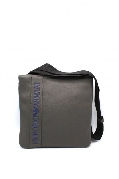 Emporio armani Tracolle - Y4m176 yg89j tracolla regolabile con logo Uomo Grey Fashion