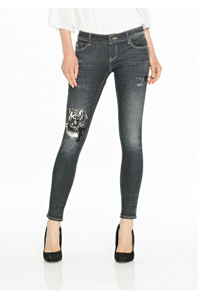 Fracomina Jeans Donna Grigio Casual