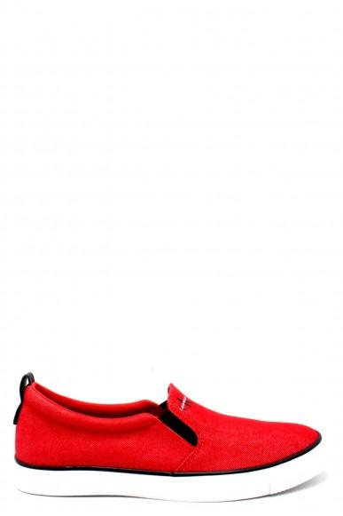 Calvin klein Slip-on F.gomma 40/45 s1488 ss18 Uomo Rosso Fashion
