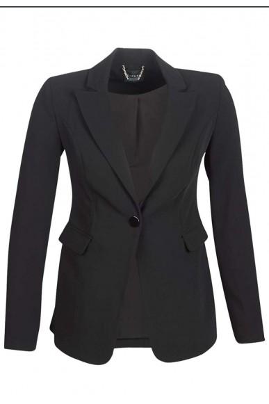 Guess Giacche   Katy blazer Donna Nero Fashion