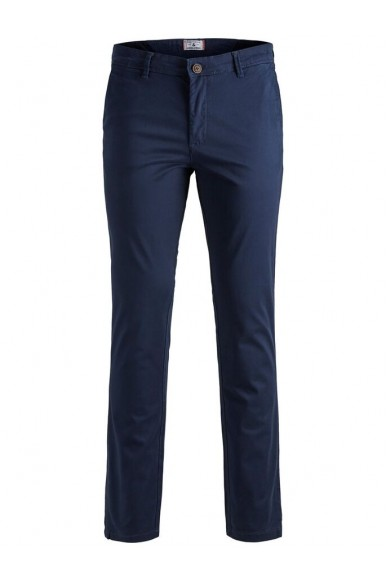 Jackejones Pantaloni   Jjimarco jjbowie sa navy blazer noo Uomo Blu Fashion