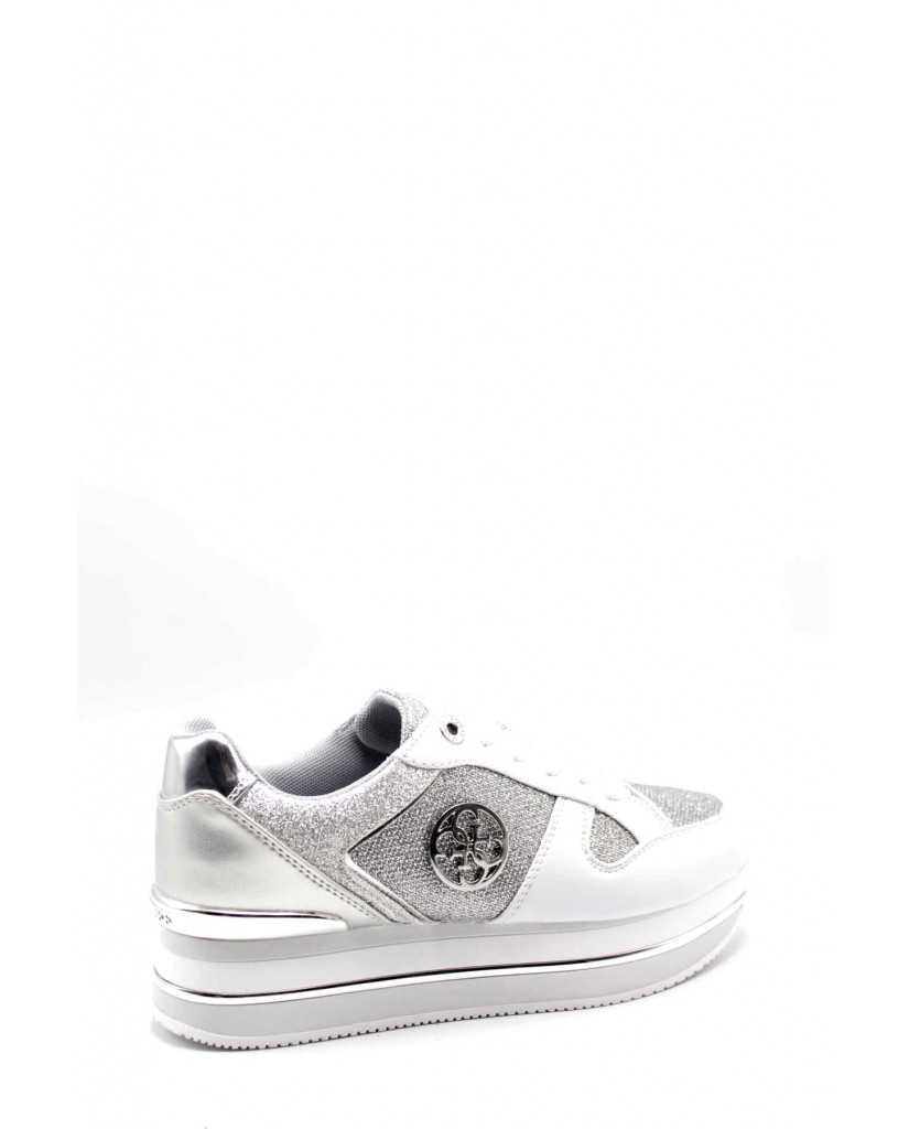 Guess Sneakers F.gomma Dealy/active lady/leather like Donna Bianco Fashion