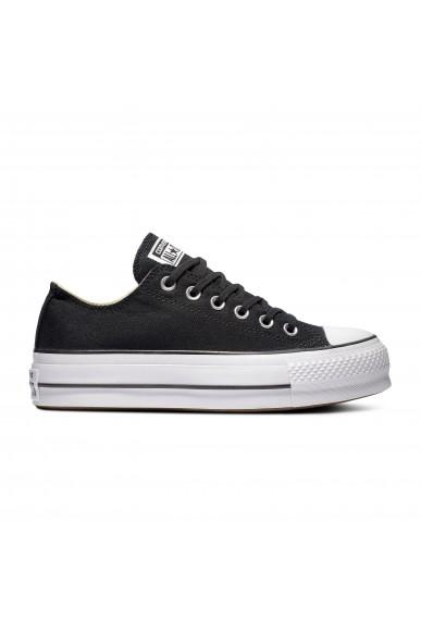 Converse Sneakers F.gomma Ctas lift ox Donna Nero Fashion