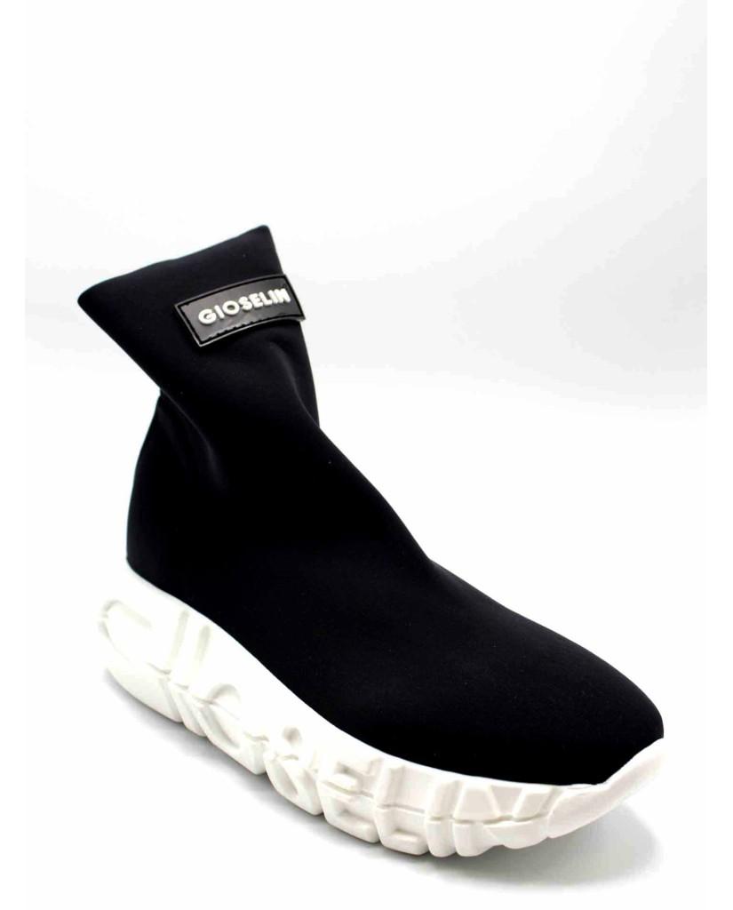 Gioselin Sneakers F.gomma 36/41 Donna Nero Fashion