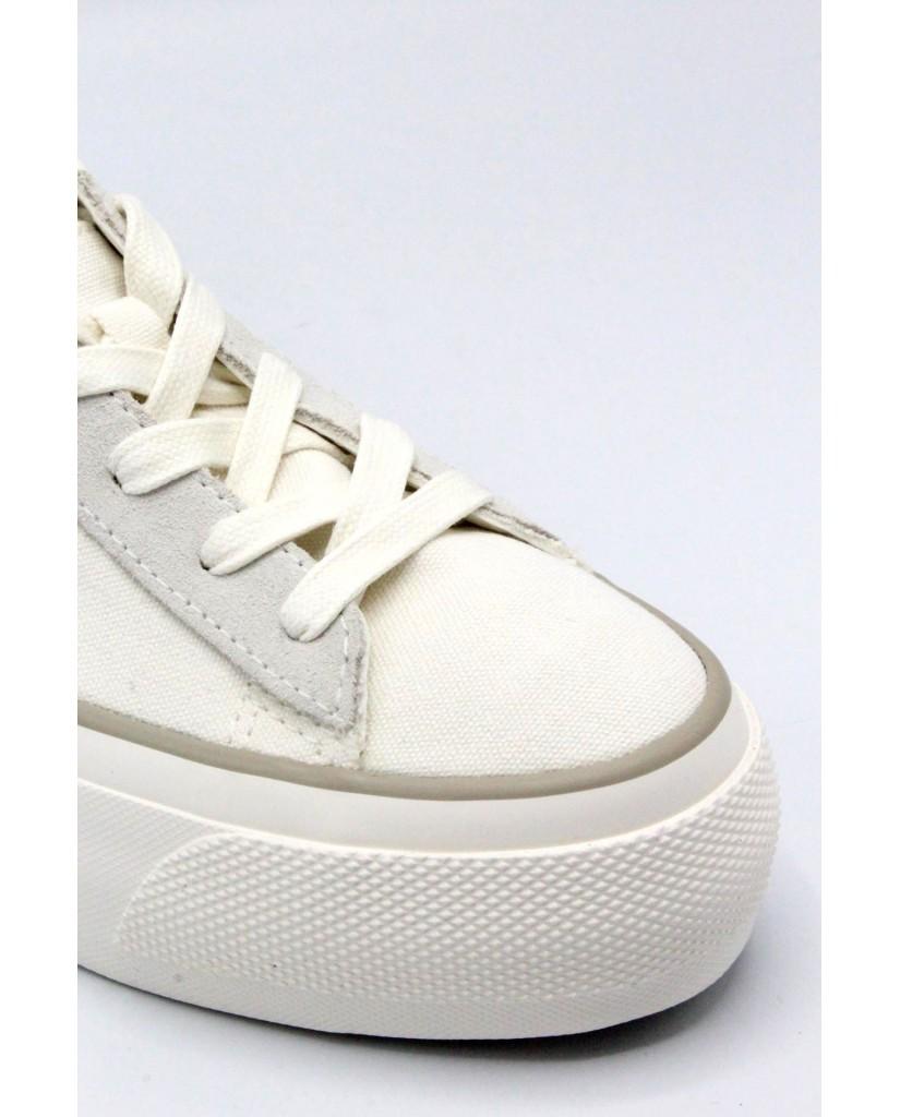 Converse Sneakers F.gomma 35/40 Donna Bianco Sportivo