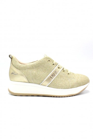 Liu.jo Sneakers F.gomma 35/40 Donna Platino Fashion