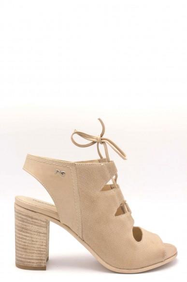 Nero giardini Tronchetti F.gomma Made in italy p805730d Donna Champagne Fashion