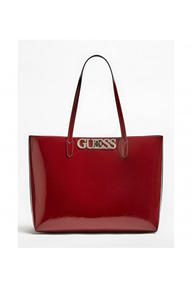 Guess Borse   Uptown chic barcelona tote Donna Rosso Fashion