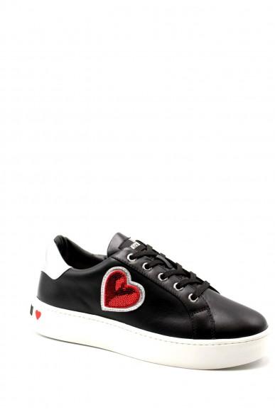 Moschino Sneakers F.gomma Sneakerd.cassetta35 vit.ne/nap.arge Donna Nero Fashion