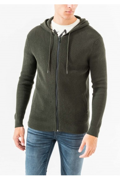 Antony morato Cardigan   Knitted sweater Uomo Verde