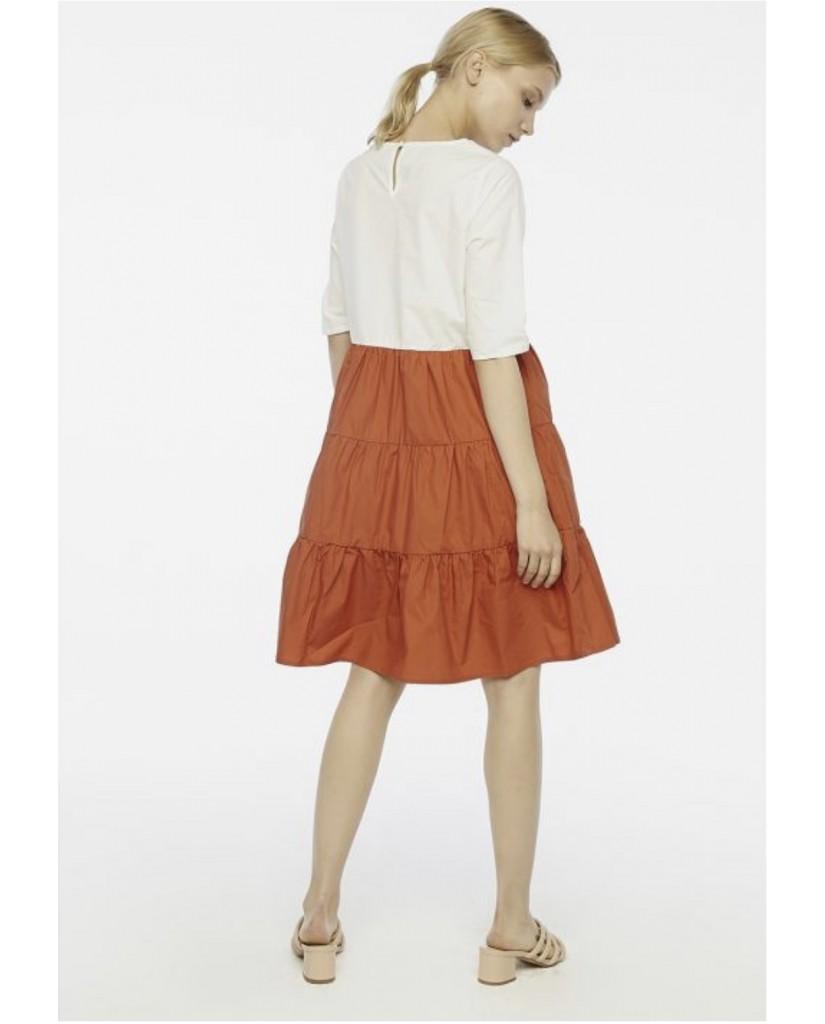 Compagnia fantastica Abiti   Sp20han107 Donna Marrone Fashion