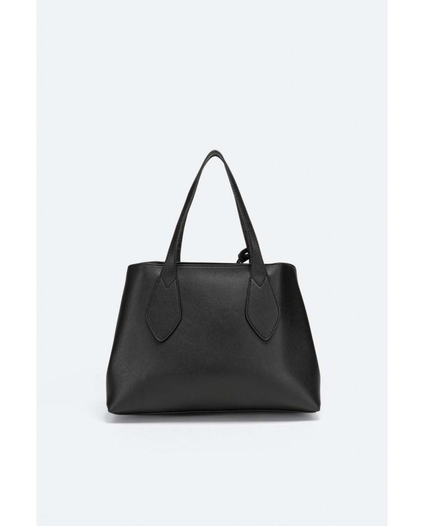 Gattinoni Borse   Denise double handle bag pu/pvc tau Donna Nero Fashion