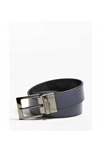 Guess Cinture   City logo rev. adjustable belt Uomo Blu Fashion