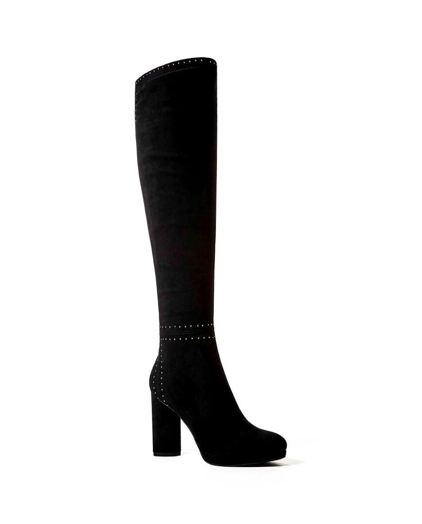 Guess Stivali F.gomma Porsia/stivale (boot)/suede Donna Nero Fashion