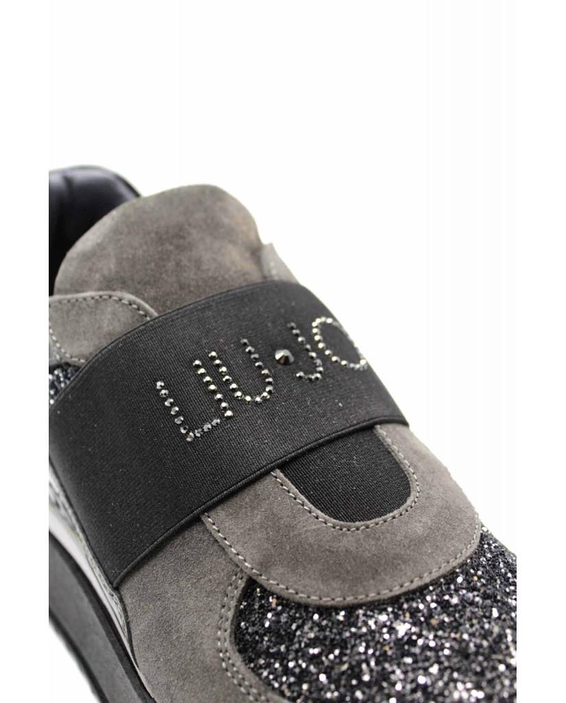 Liu.jo Slip-on F.gomma Donna Carbone Fashion