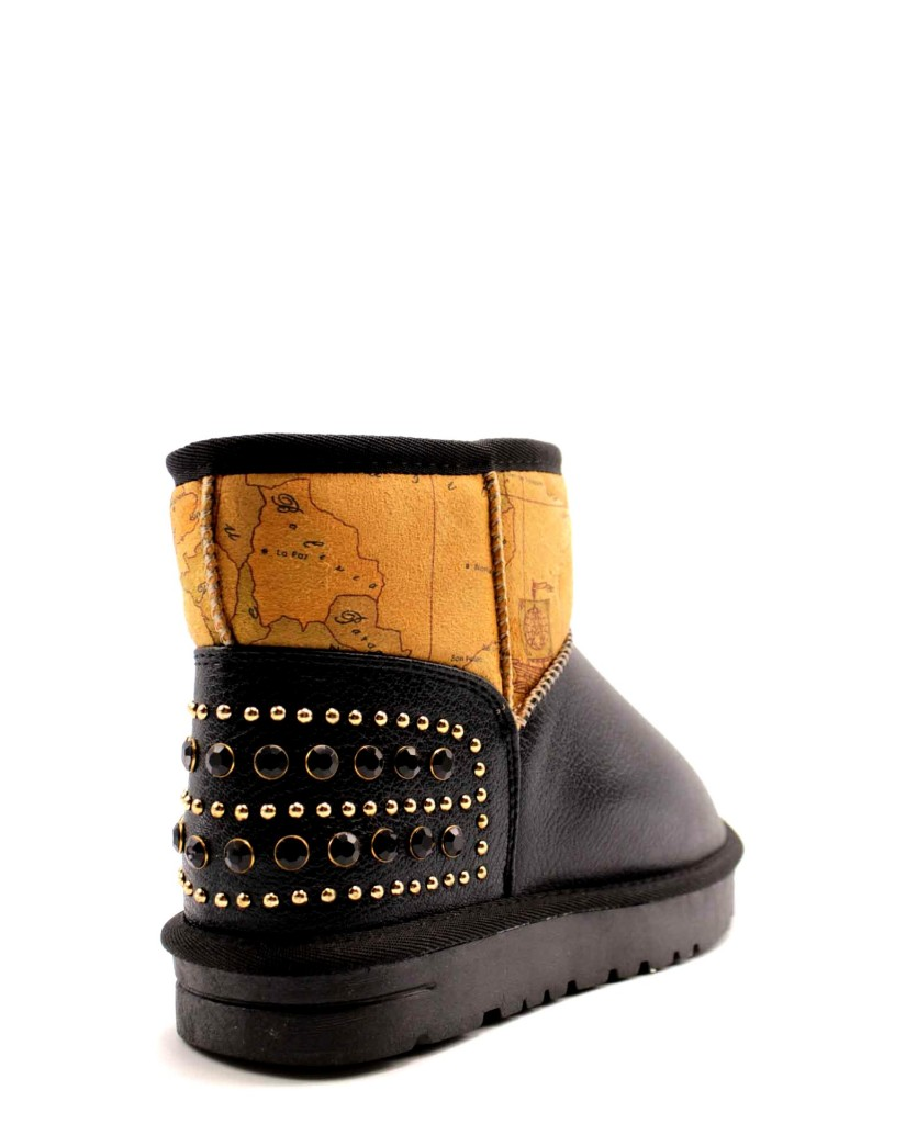 1^classe  Stivali F.gomma Donna Nero Fashion