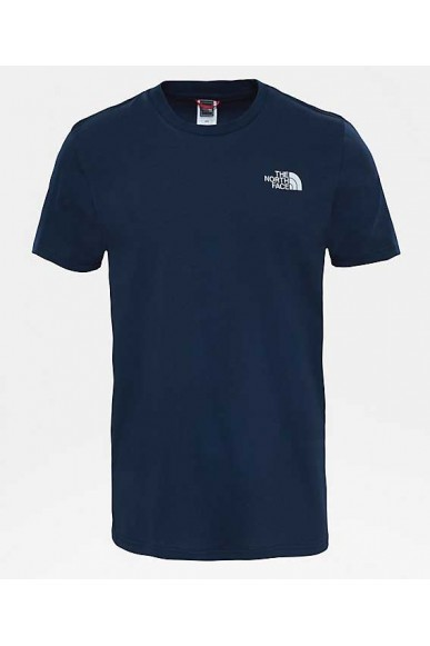 The north face T-shirt   Simple dome tee ur navy/tnf wh Uomo Blu Casual