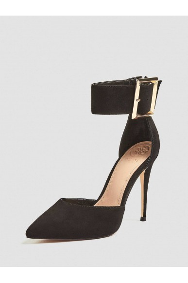 Guess Decollete   Ovie decollete (pump) suede Donna Nero Fashion