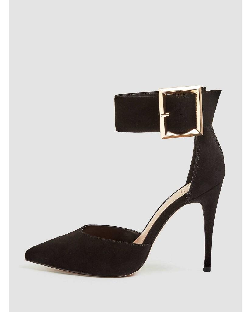 Guess Decollete   Ovie decollete (pump) suede Donna Nero Fashion