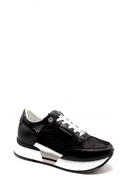 Apepazza Sneakers F.gomma Rose Donna Nero Fashion