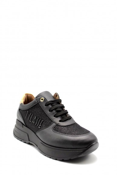 1^classe  Sneakers F.gomma In07280927 Donna Nero Fashion