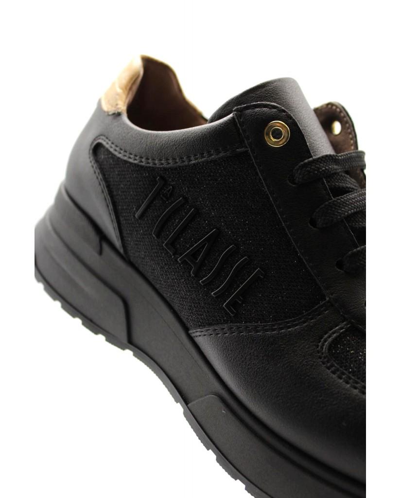 1^classe  Sneakers F.gomma In07280927 Donna Nero Fashion