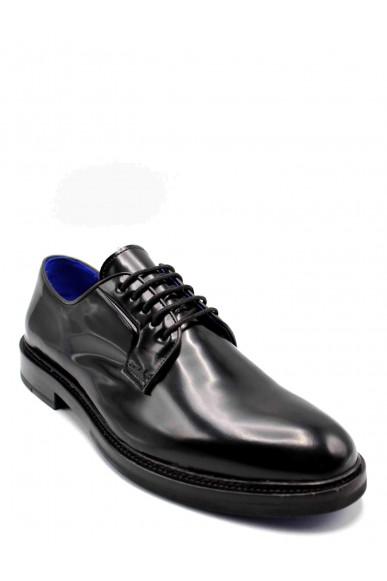 Brecos Stringate F.gomma 40-45 Uomo Nero Fashion