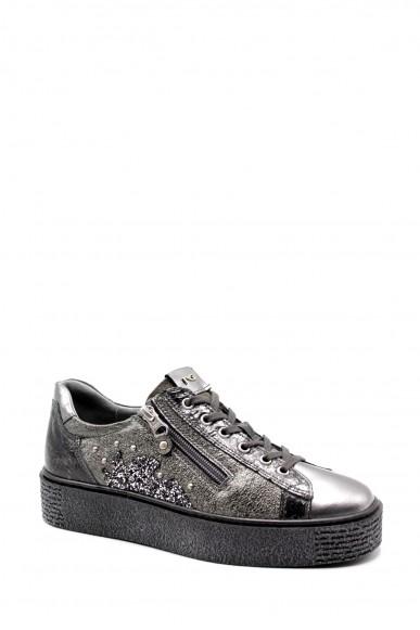 Nero giardini Sneakers F.gomma Specchio mirror opac crack grigio 0 Donna Antracite Casual