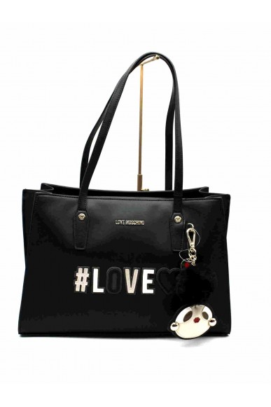 Moschino Borse   Borsa shopper love Donna Nero Fashion