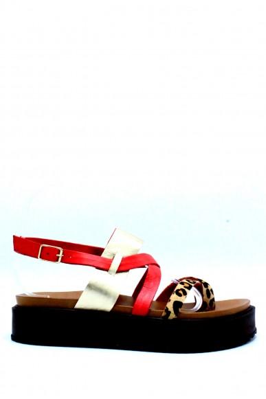 Inuovo Sandali F.gomma 35/41 Donna Rosso Fashion