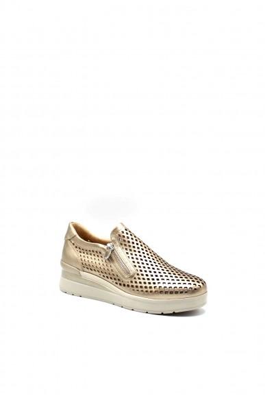 Stonefly Sneakers F.gomma Cream 25 laminated lth Donna Grigio Casual