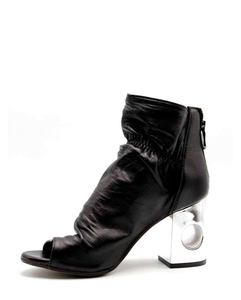 Euroshoes Tronchetti F.cuoio 36-41 Donna Nero Fashion