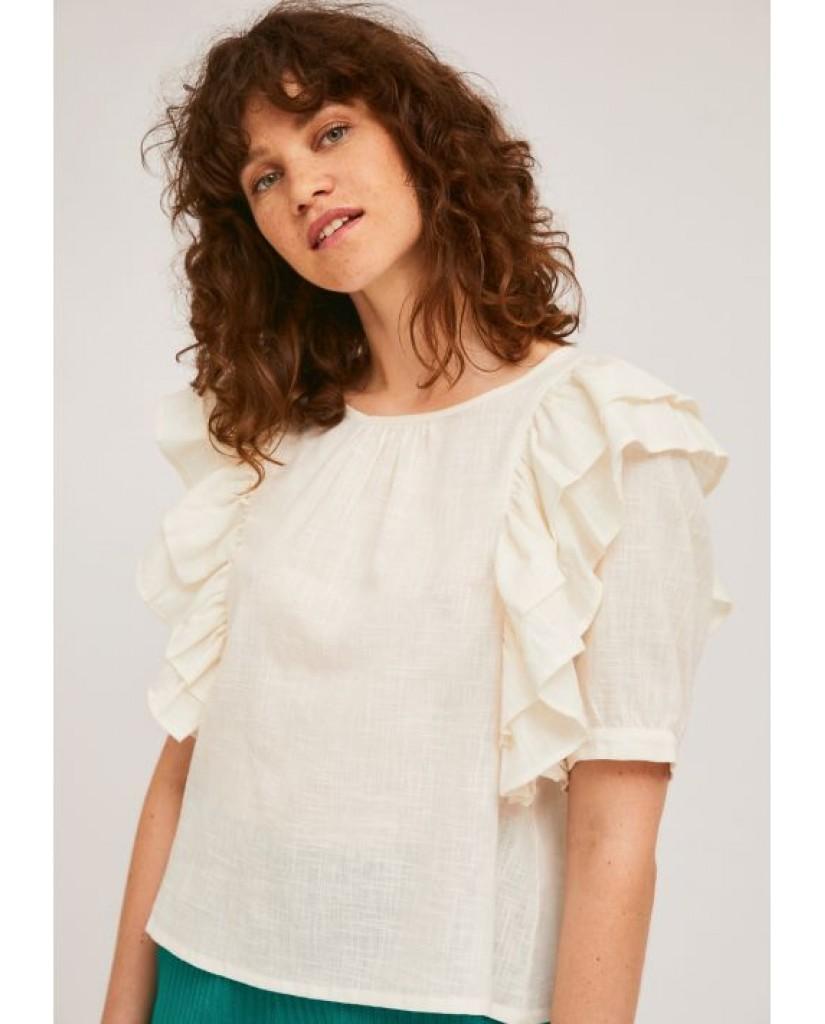 Compagnia fantastica Top   Sp21sam24 Donna Bianco Fashion