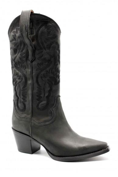 Jeffrey campbell Tronchetti   Dagget leather black Donna Nero Fashion