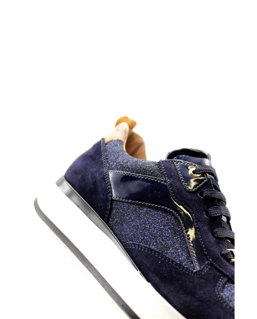 1^classe  Sneakers F.gomma In07440491 Donna Blu Fashion