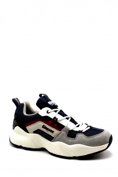 Blauer Sneakers F.gomma Marvin01/mes Uomo Blu Fashion