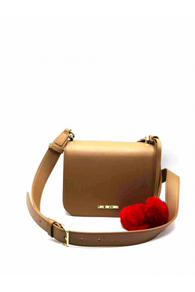 Moschino Tracolle   Borsa pin grain Donna Camel Fashion