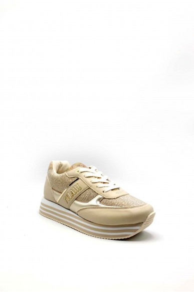 1^classe  Sneakers F.gomma 0892 Donna Beige Fashion