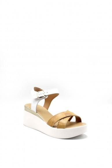 1^classe  Sandali   Sandalo zeppa h75 Donna Bianco Fashion