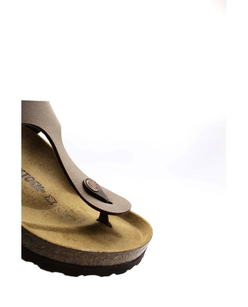 Birkenstock Sandali F.gomma Gizeh bi-classic Donna Marrone Fashion