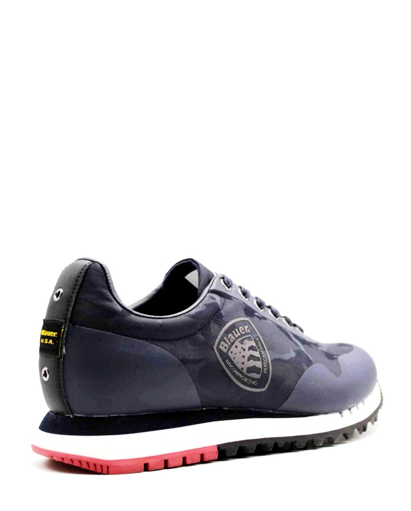 Blauer Sneakers F.gomma Denver02 Uomo Blu Fashion