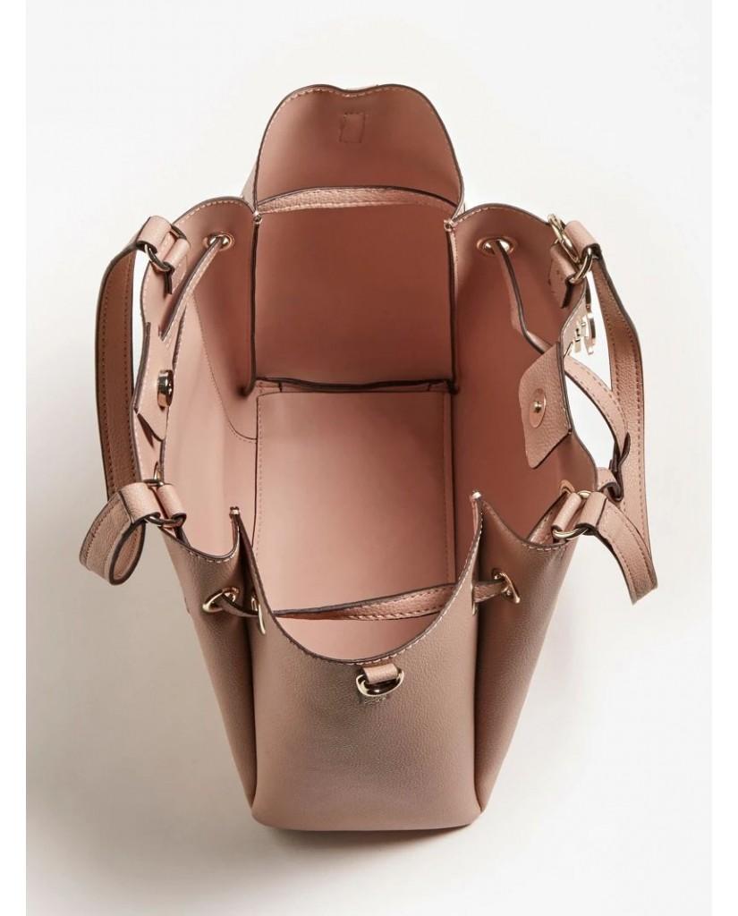 Guess Borse   Digital drawstring bag Donna Rosa Fashion